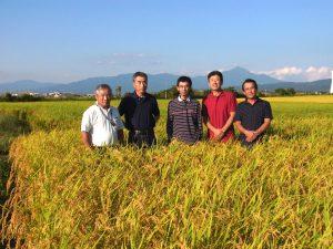 あいづ農園「米部会」の皆さん (11名)